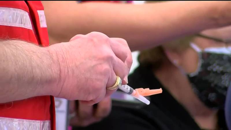 For the first time since Pfizer booster shots have become available, Clark County's mass...
