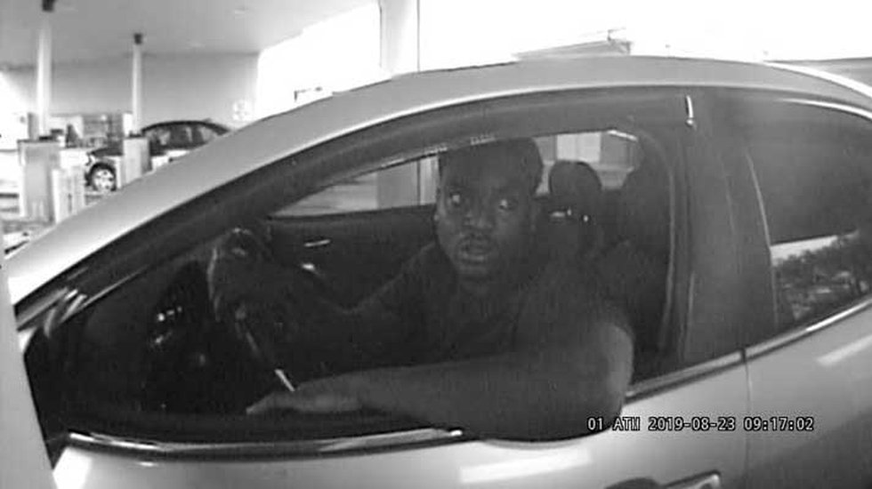 Louisville Metro police are seeking to identify the man in the photo in connection with a...