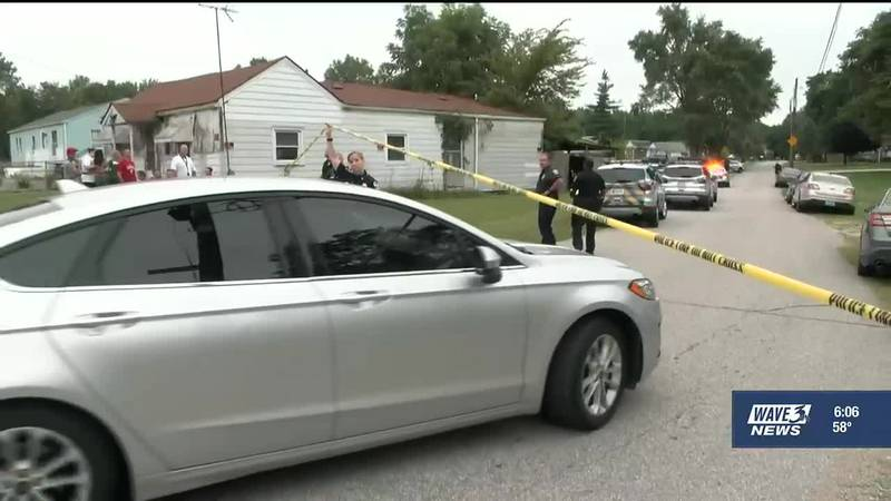 LMPD data shows there were two children up to the age of 17 who were killed in 2018. That...