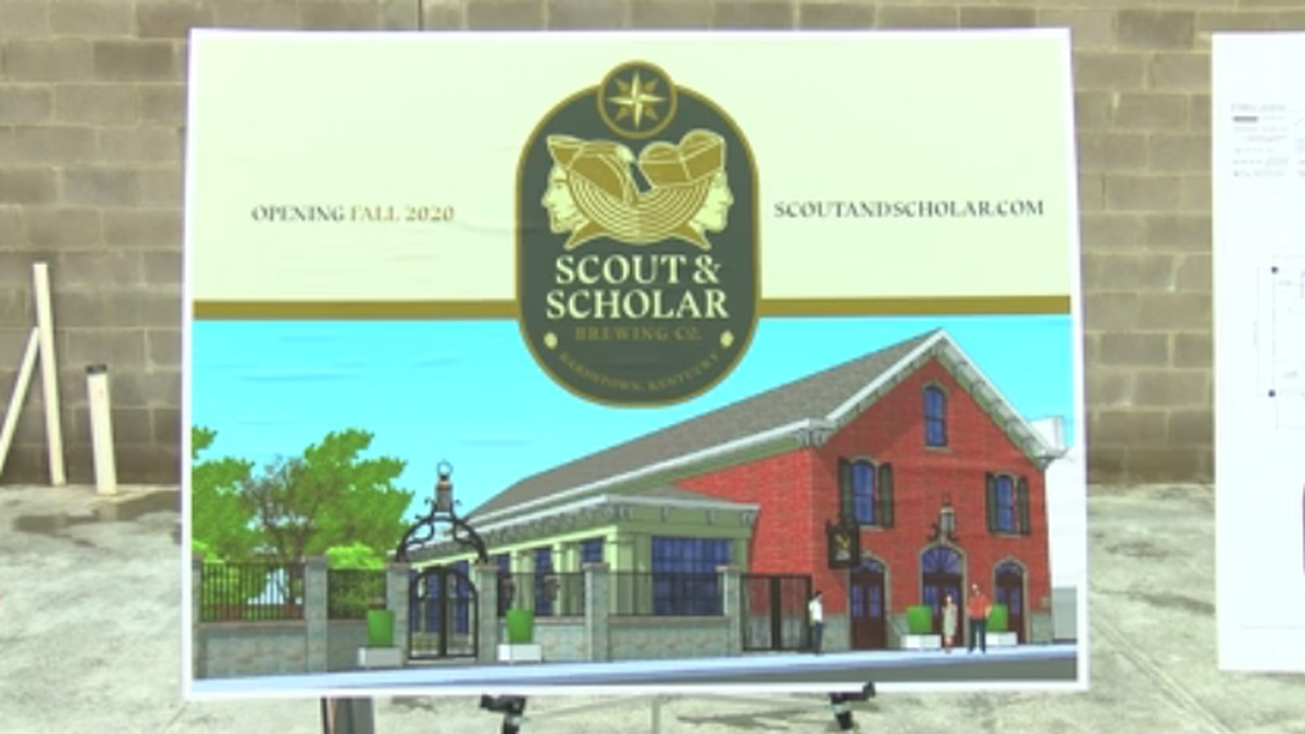 Scout and Scholar Brewing Company is named after the two brothers who founded the city of...