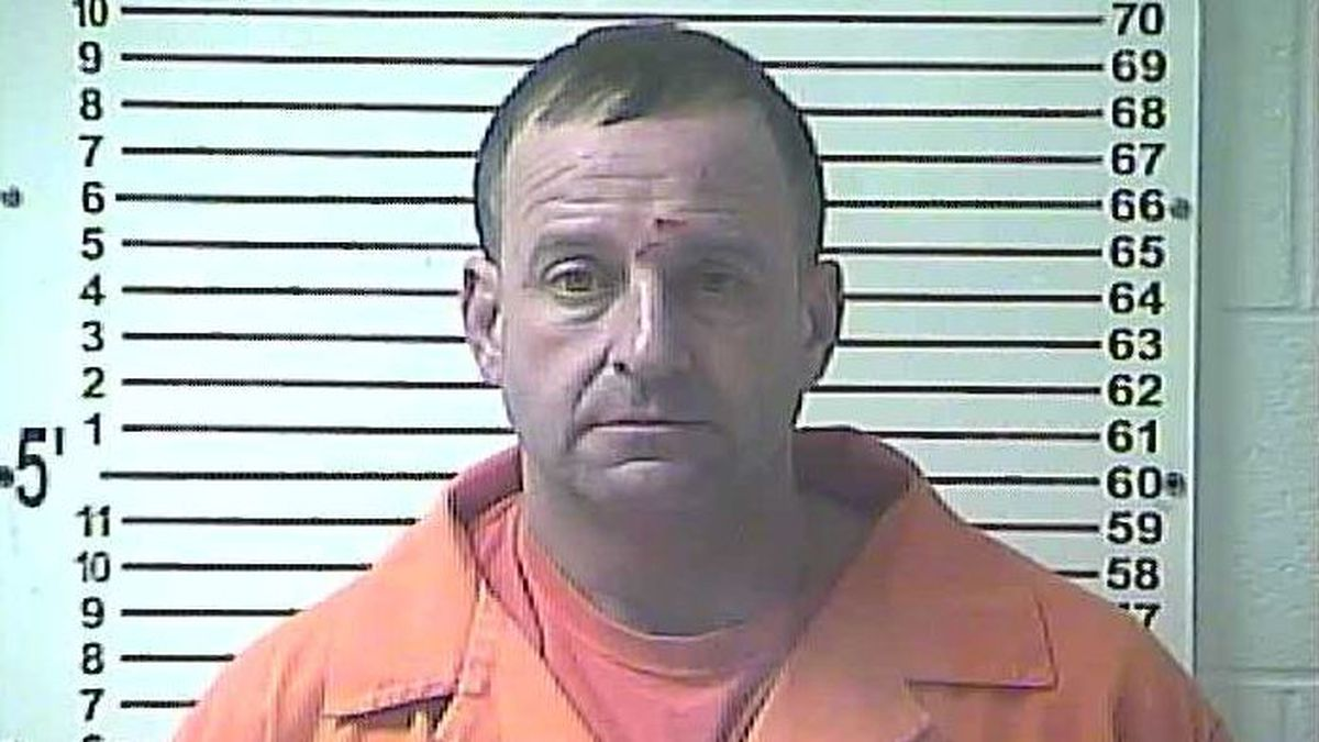 Police said Pate was spotted hiding beer bottles in the woods at the scene of the crash.