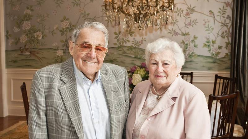 """Lewis """"Sonny"""" Bass (left) and his wife, Gladys (right)."""