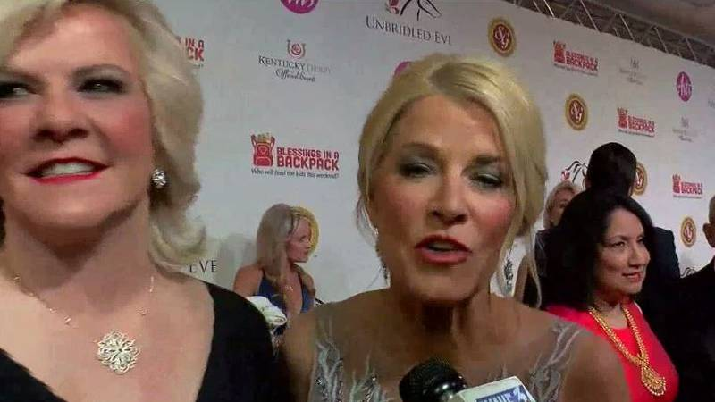 Tammy York Day (left) and Tonya York Dees are the organizers of the Ubridled Eve Derby Gala...