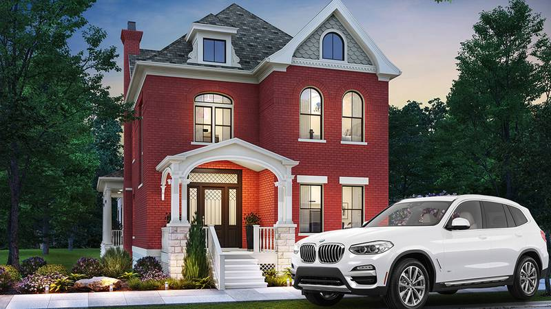 You could win a house or a new SUV for $100.