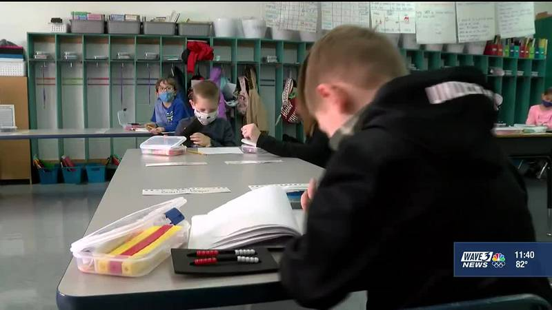 The JCPS Board of Education is expected to discuss mask wearing and a virtual school option for...