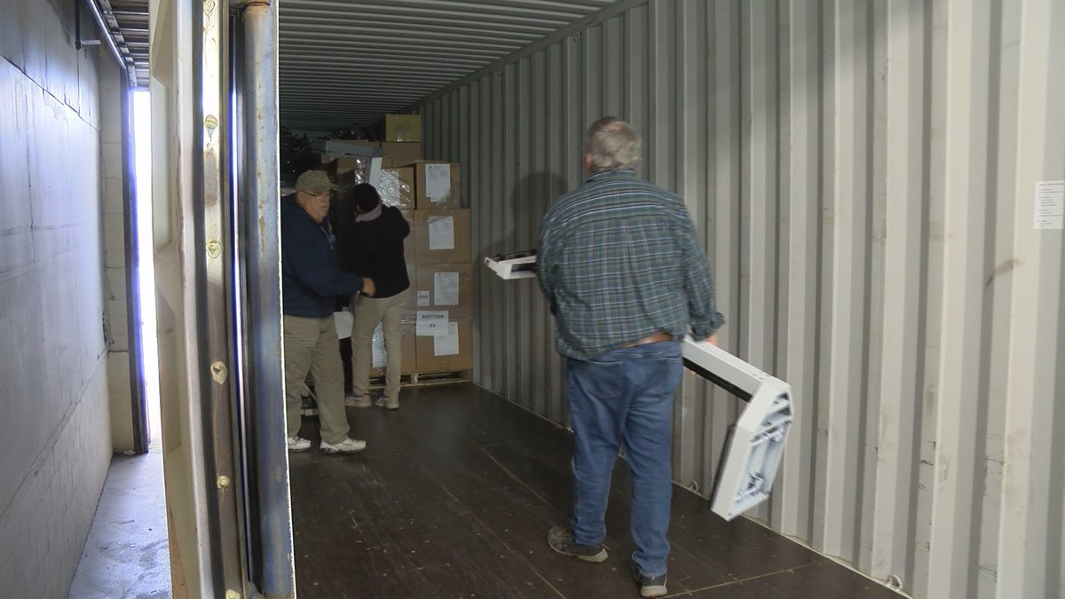 Supplies Over Seas shipped over 11,000 lbs of medical supplies to Cameroon on Tueday.
