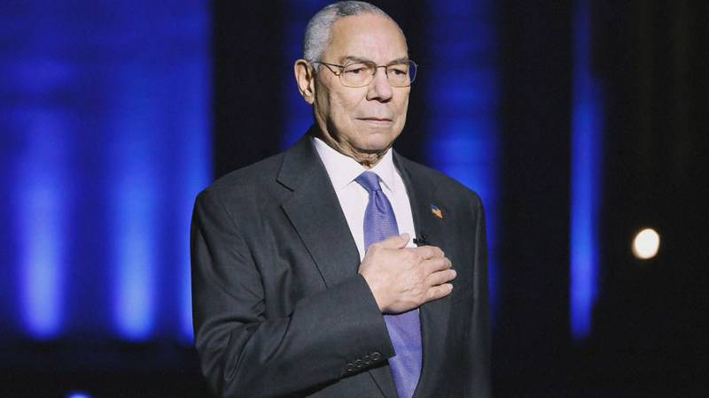 Colin Powell was 84 years old and suffered from a cancer of his white blood cells, multiple...