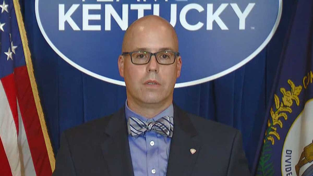 Dr. Steven Stack, commissioner of the Kentucky Department for Public Health.