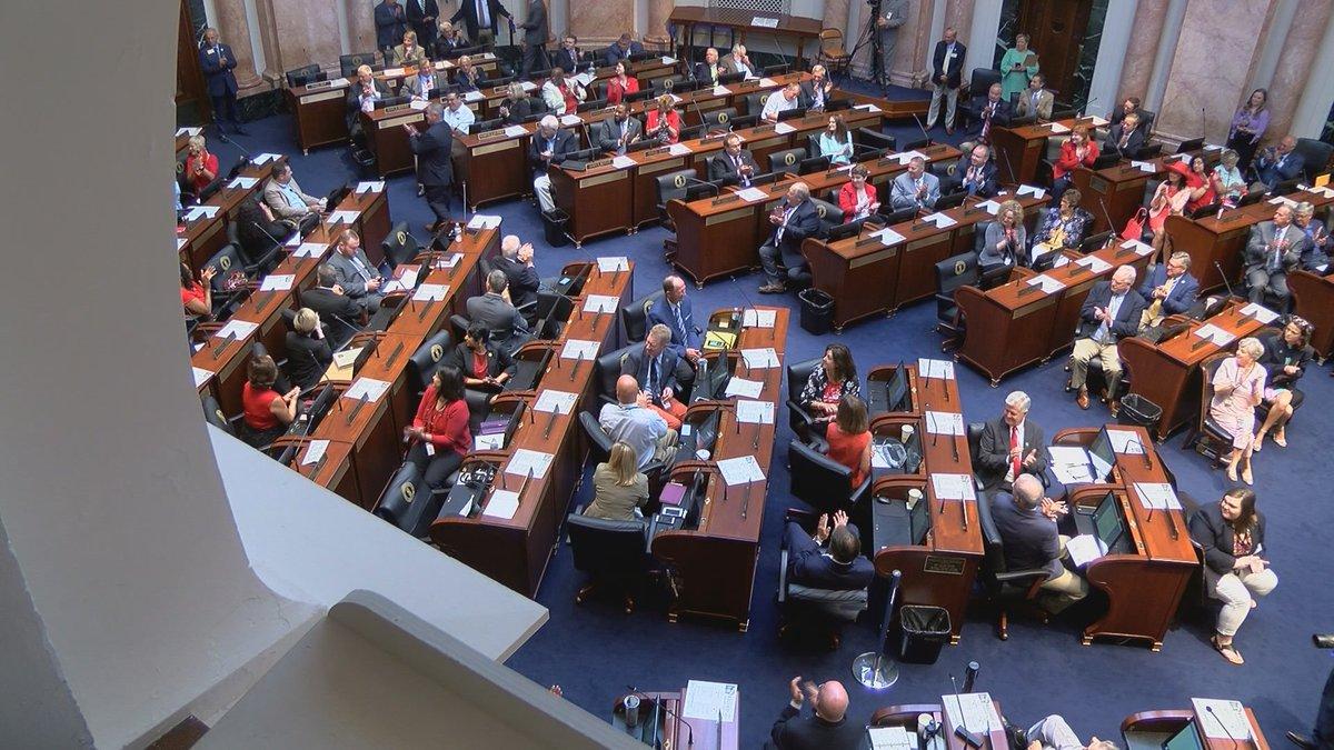 Kentucky legislators have been on a self-imposed break due to the coronavirus.