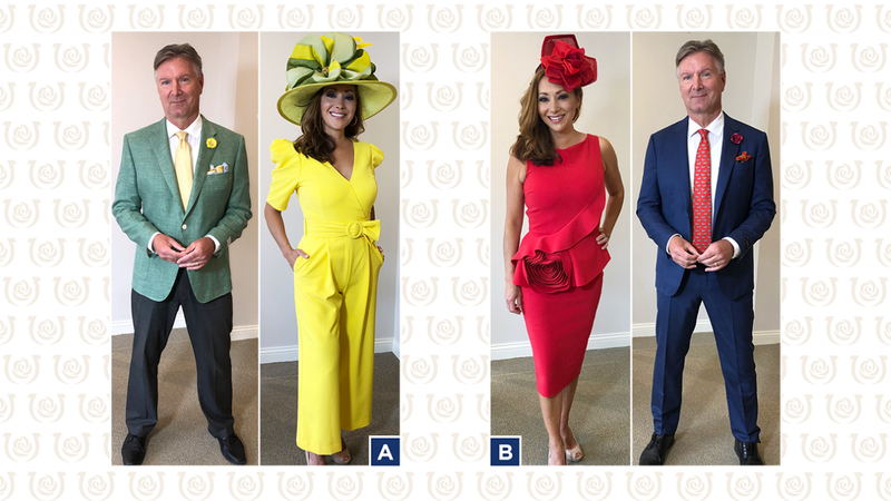 Vote for Shannon Cogan and John Boel's Kentucky Derby 147 outfits.