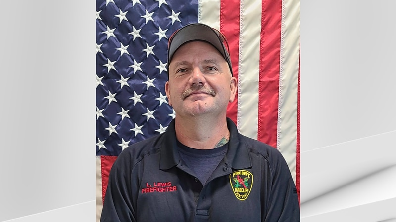 """Leroy """"Bub"""" Joe Lewis, Jr., a 15-year veteran of the Radcliff Fire Department, died on Friday."""