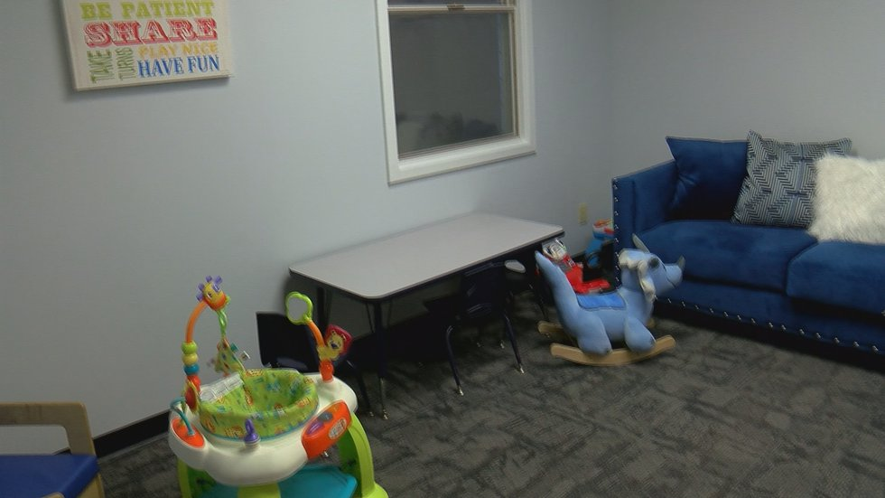 The center will offer supervised visitation, both monitored and sight and sound.