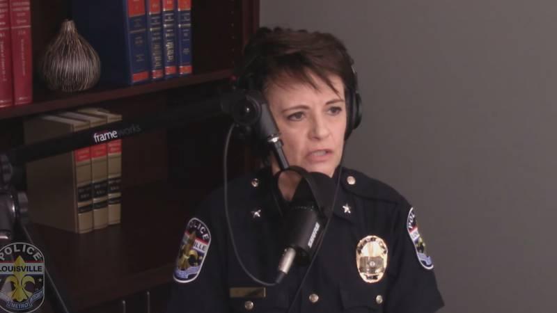 Chief Erika Shields announces a program she's confident will slow down Louisville's violent...