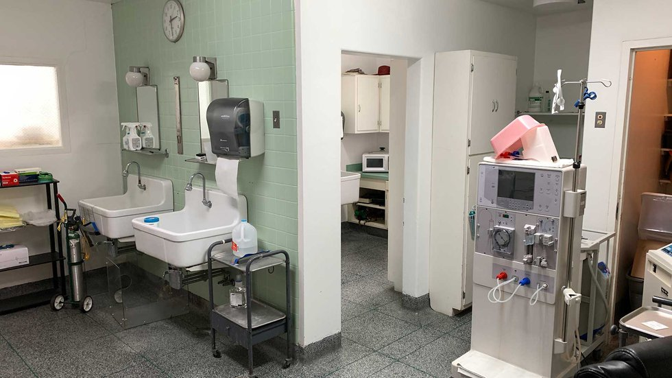 Jane Todd Crawford Hospital has no specialists on staff and no surgeons.