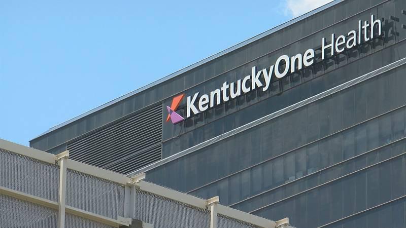 KentuckyOne Health in downtown Louisville.