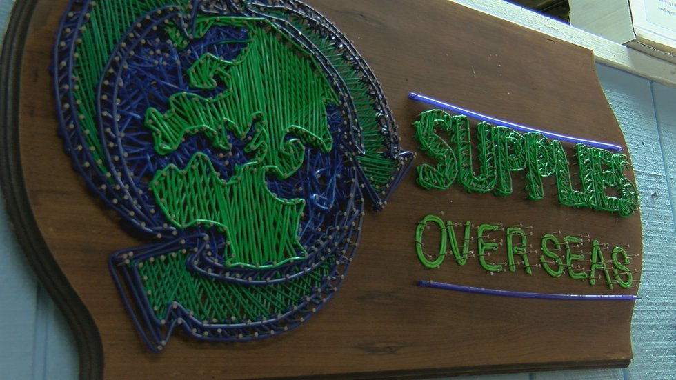 SOS has saved around one million pounds of supplies since 1993, according to the organization.