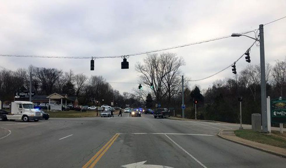 The incident happened near My Old Kentucky Home. (Source: Nelson County Over Watch on Facebook)