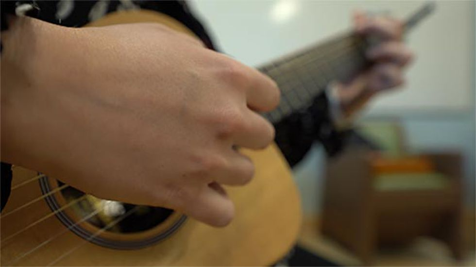 Music therapy uses various instruments to address physical, emotional, cognitive and mental...