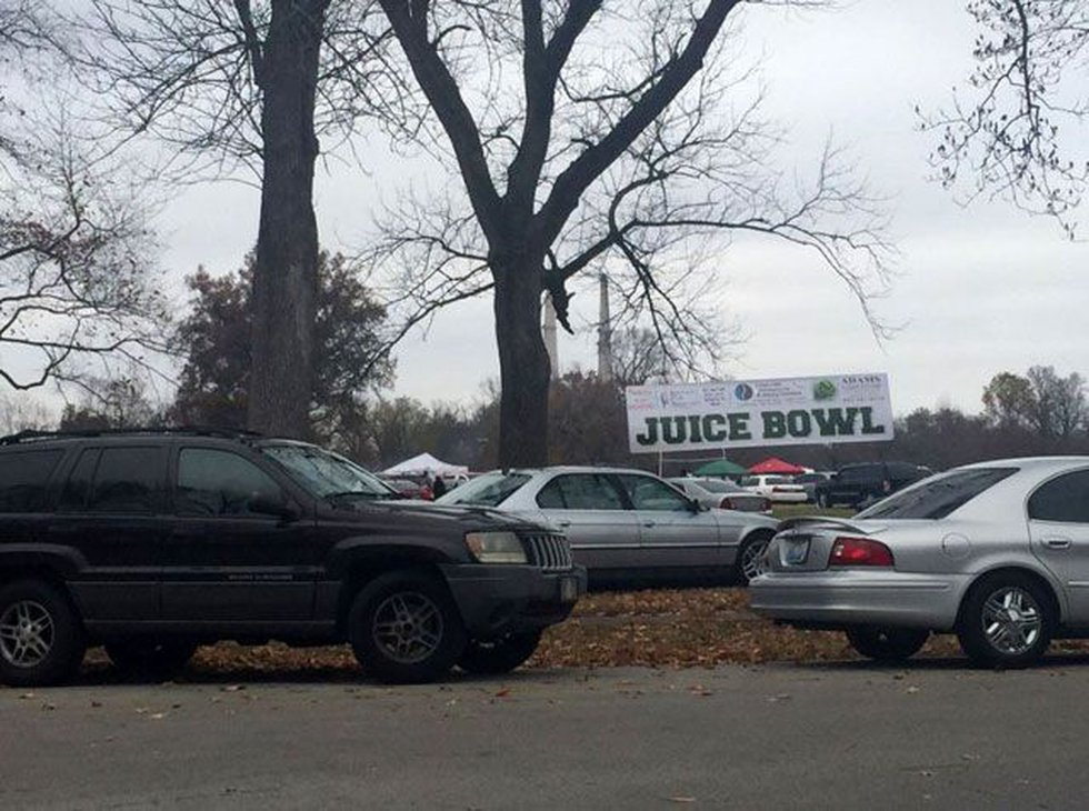 The Juice Bowl is a Shawnee Park tradition on Thanksgiving Day. (Source: Kasey Cunningham/WAVE...
