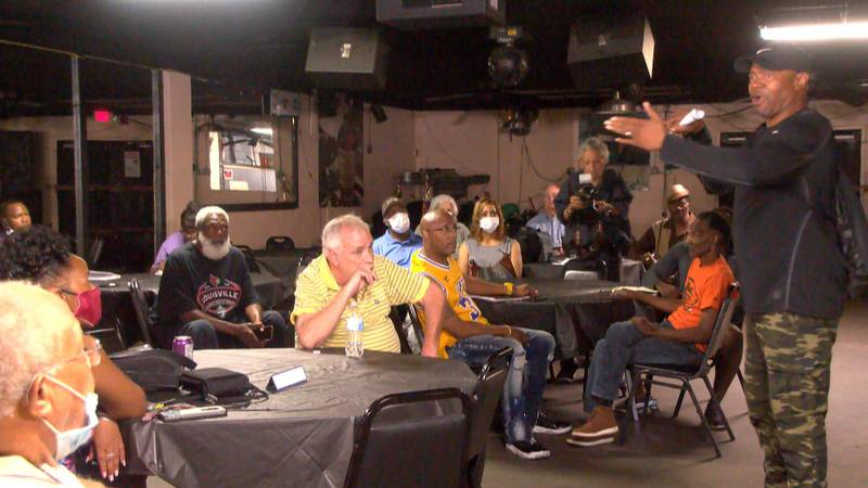 On Thursday, roughly two dozens people came to Cole's Place to talk about the city's recent...