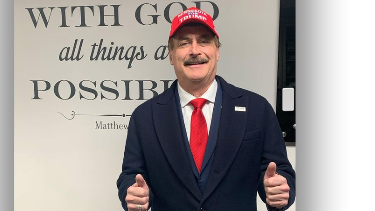 Mike Lindell is the CEO of MyPillow and a conservative commentator who was banned from many...