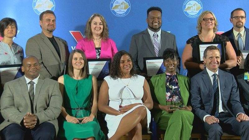 Finalists for Teacher of the Year. (Source: WAVE 3 News)