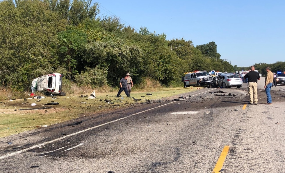News 10 obtained a photo of the deadly wreck on Highway 171 and has confirmed the vehicle...