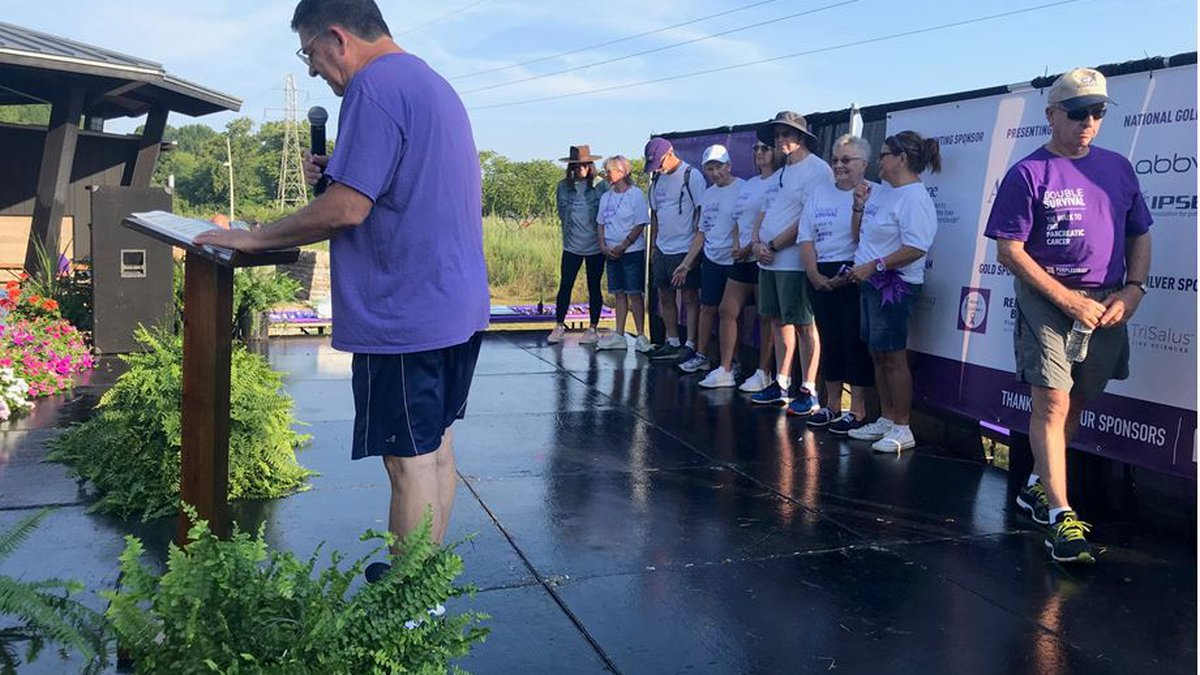 Pancreatic Cancer Action Network (PanCAN) hosted PurpleStride Louisville, the walk to end...