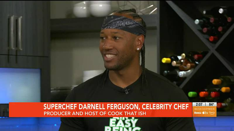 SuperChef Darnell Ferguson visited WAVE Country with Dawne Gee to talk about the debut of 'Cook...