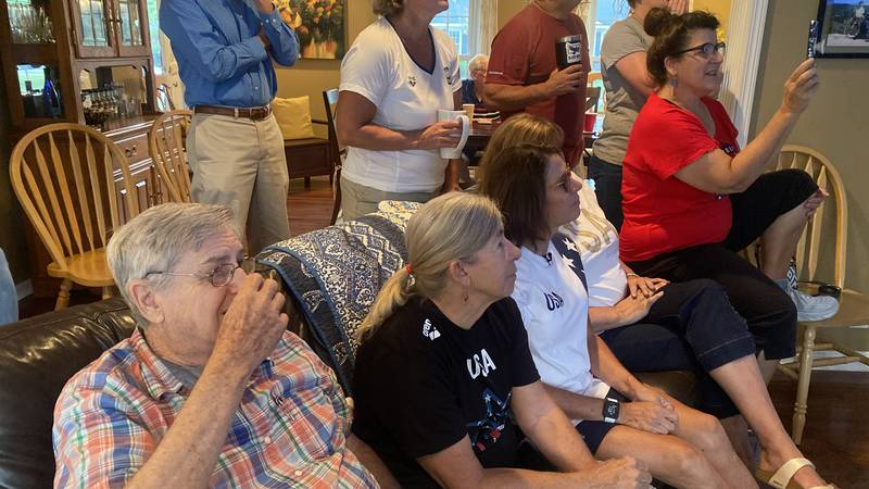 Brooke Forde Olympic watch party