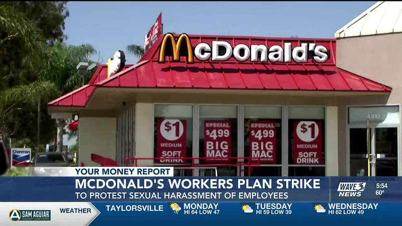 There are worries now about a shortage of wine and champagne. Also, McDonald's workers plan to...