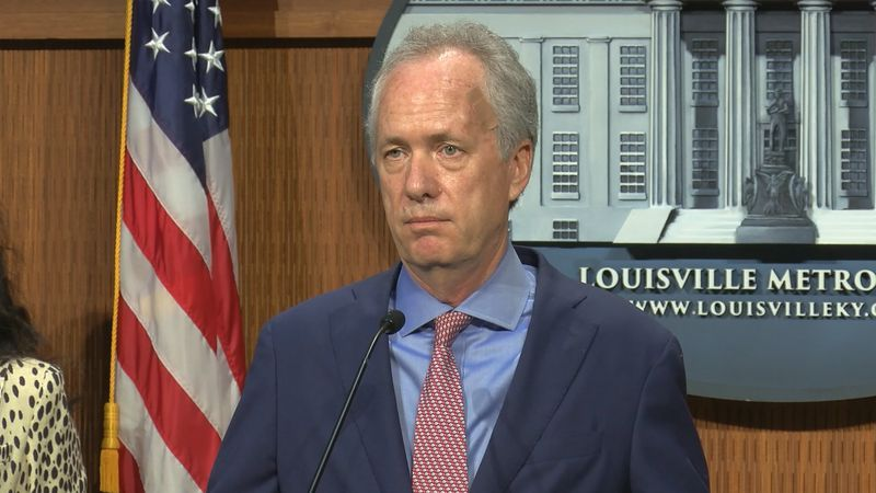 Louisville Mayor Greg Fischer described Louisville's continuing trend of deadly violence as...