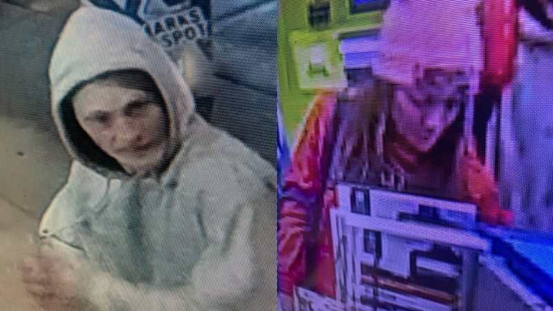 The Meade County Sheriff's Office believes these two individuals are responsible for stealing...
