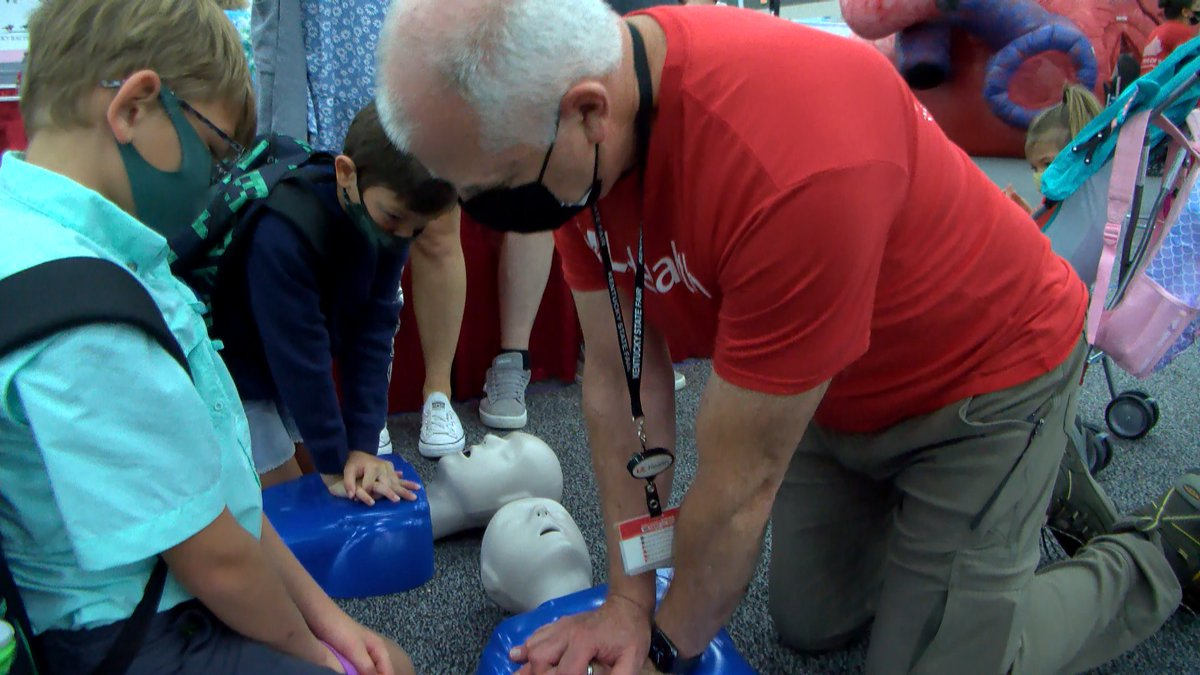 Jeff Backus partnered with UofL Health, urging guests to learn life-saving techniques that...