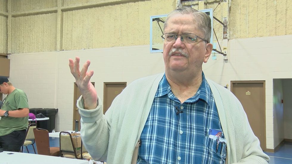 Halland Kendall is President of Kendall Optometry Ministry. (Source: WAVE 3 News)
