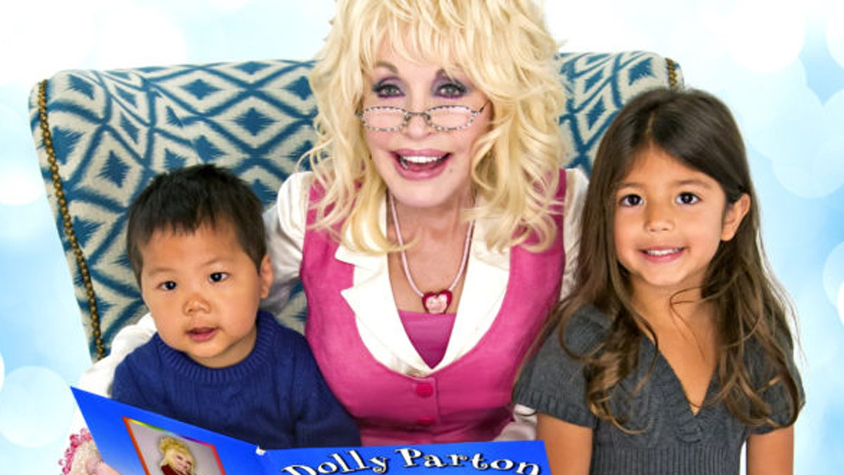 Inspired by her father's inability to read or write, Parton founded found the Imagination...