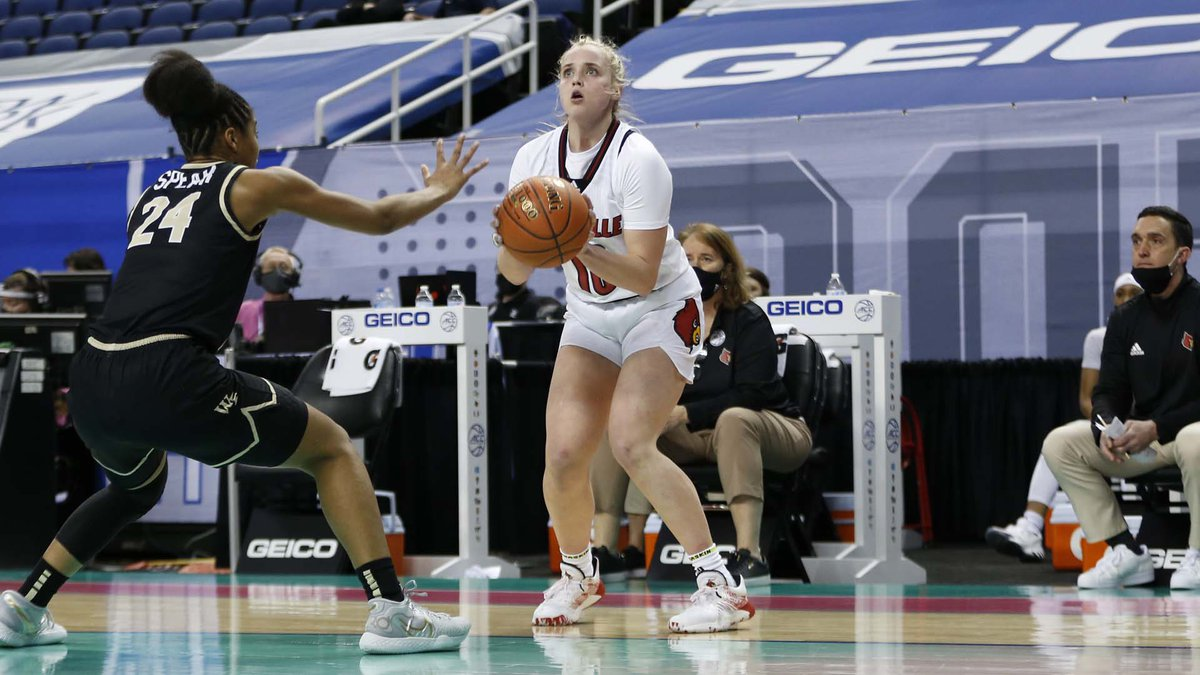Hailey Van Lith comes to the rescue for the Cards in the ACC Tournament