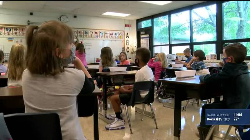 A JCPS spokesperson said vaccinated employees don't have to get tested for COVID, but...