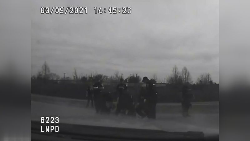 Kentucky State Police released bodycam video Thursday afternoon on an incident involving an...