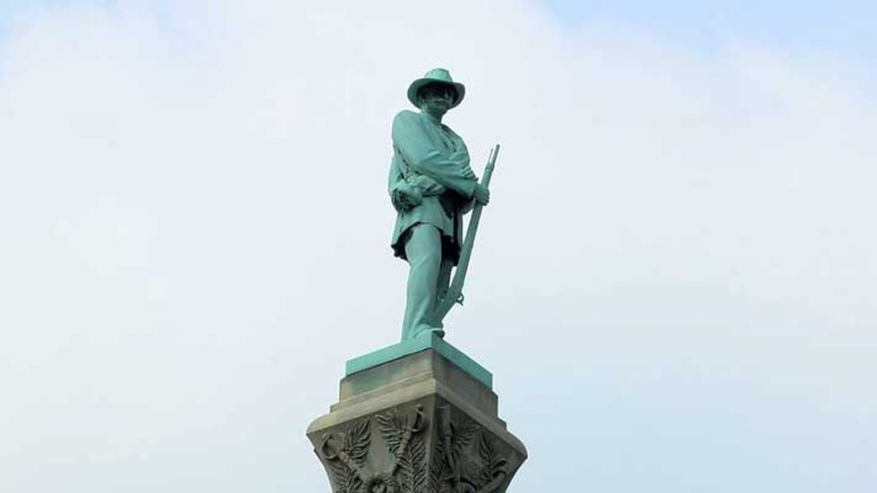 The monument has been in place since 1895. (Source: Steven Richard, WAVE 3 News)