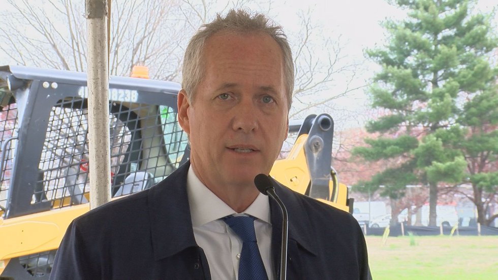 Louisville Mayor Greg Fischer said he will be on hand for the opening of the first building in...