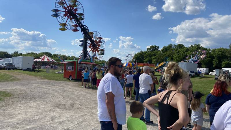 After having to cancel in 2020 because of COVID-19, the Bullitt County Fair opened their gates...