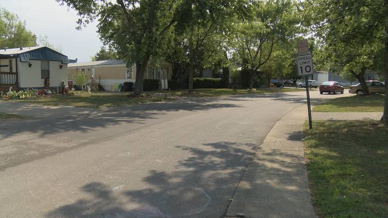 A man was beaten and left for dead at a mobile home park in southern Indiana.