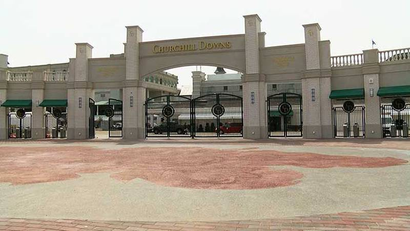 The new paddock gate entrance at Churchill Downs. (Source: Michael Williams, WAVE 3 News)