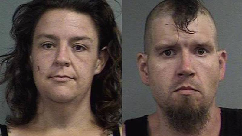 Matthew and Haly Shields are charged with endangering the welfare of a minor, possession of a...
