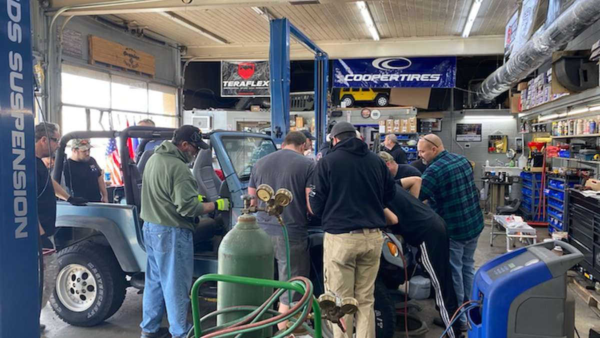 Veterans got their chance to put their automotive repair skills to the test as the first...