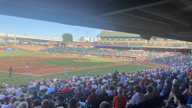 Fans were excited Louisville Slugger Field reopened at full capacity.