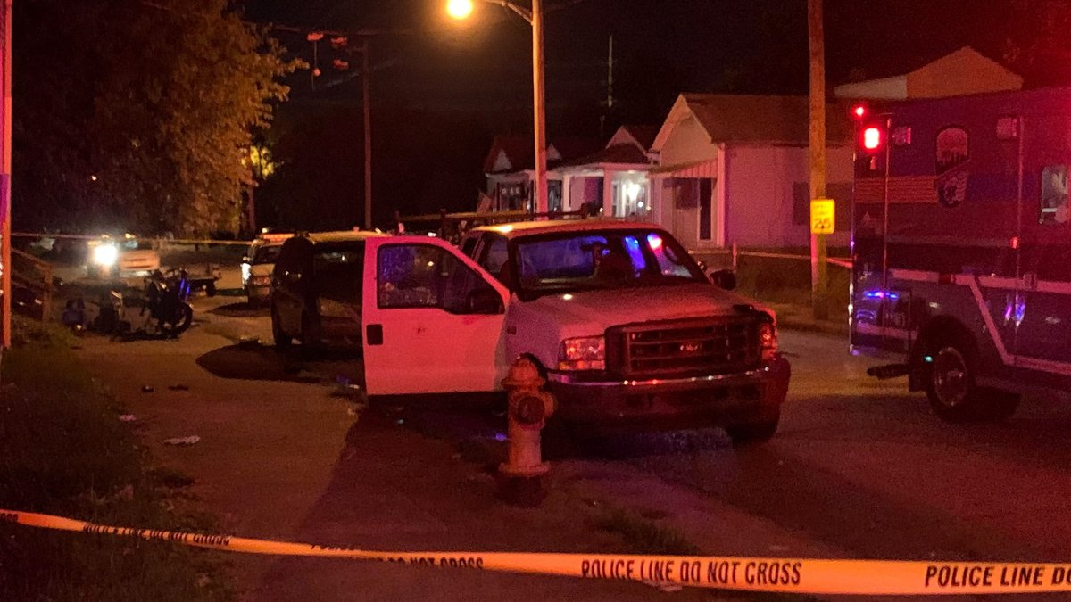 Calls came in around 8:15 p.m. to the 500 block of North 20th Street, according to police.