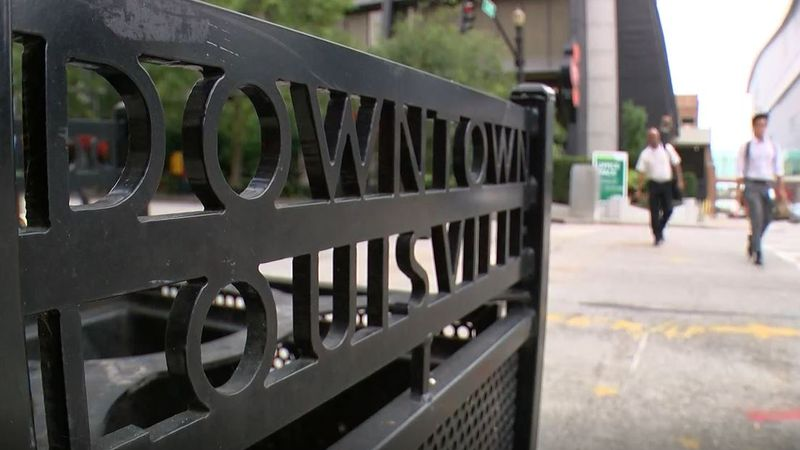 Fischer said downtown Louisville's unsafe reputation arose from media coverage of the protests....