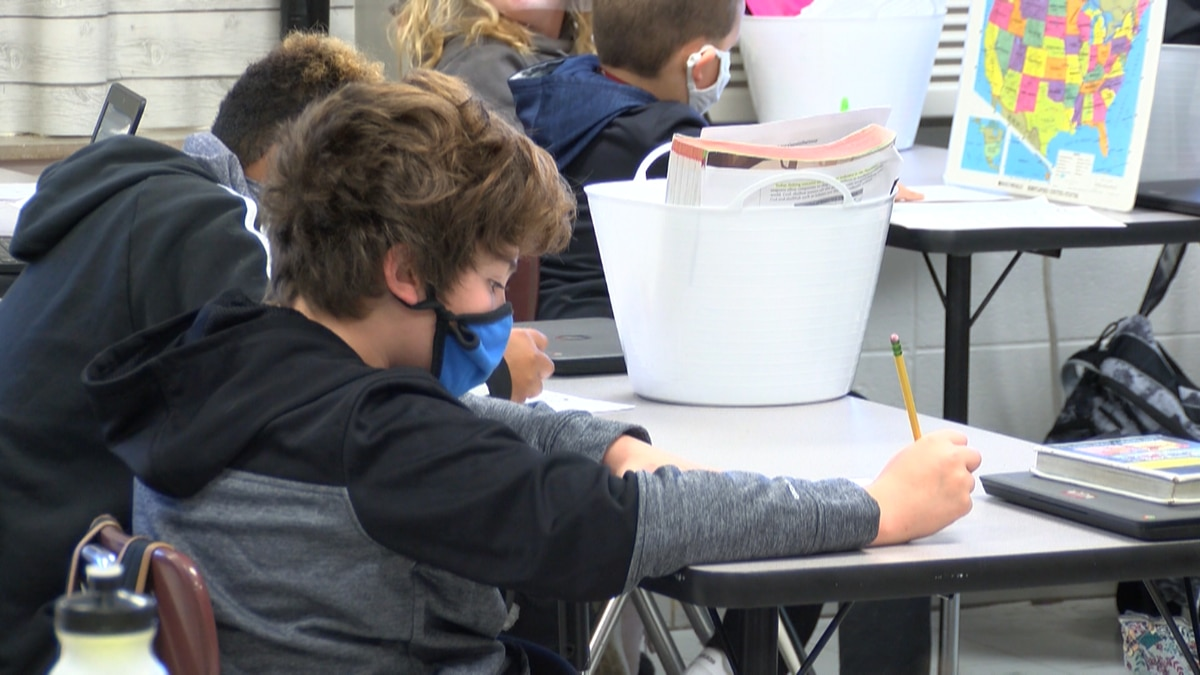 Masks will be required for children in kindergarten through sixth grade in Floyd County, but...